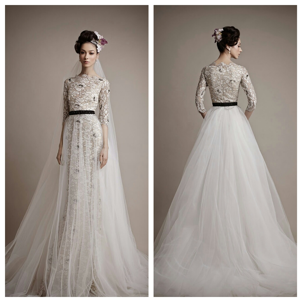 aa98495ef5e Ersa Atelier wedding 2015 collection